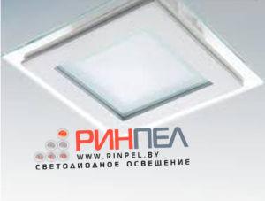 Светодиодный встраиваемый светильник (квадрат)