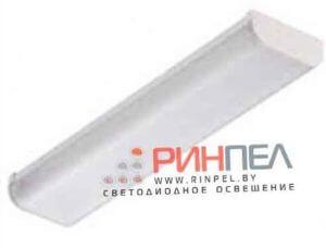 Светодиодный светильник с лампами накладной 18W IP20 (Корпус ЛПО 2*18 с лампами 2* 9 Вт)