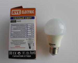 Светодиодная лампа A60-11SP1