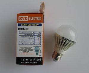 Светодиодная лампа A60-07SP2