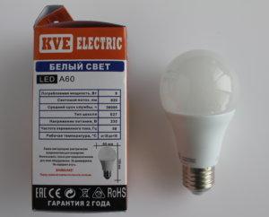 Светодиодная лампа A60-09SP1