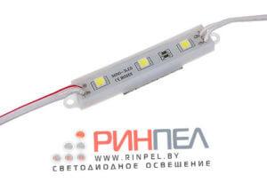 Светодиодный модуль на 3 диода 5050 0,72W