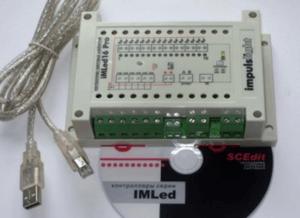Контроллер iMLed16_Pro (16 кан, 15А/кан, Iобщ=80А, U=5-25V,программируемый ,IP54)