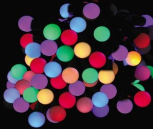 Светодиодная гирлянда «шарики»