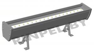 Сборка и крепление архитектурного светильника 1000 мм