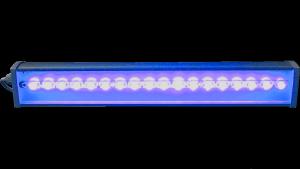 Архитектурный светильник 1000 мм 40 Вт 1620 лм синий цвет