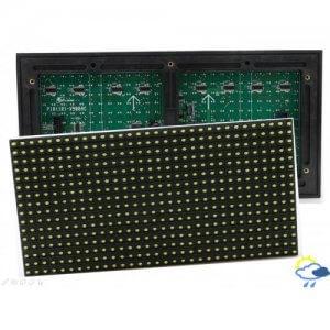 Светодиодный модуль CaiLiang P10 жёлтый 320х160 мм