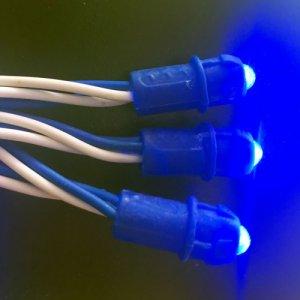 Светодиодные пиксели одноцветные (синие)