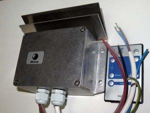 Контроллер iMLamp4D_AC_PRO_3500 (4кан, 3500Вт, программируемый, белтлайт, светодиодные лампы, дискретное изм.яркости, IP54)