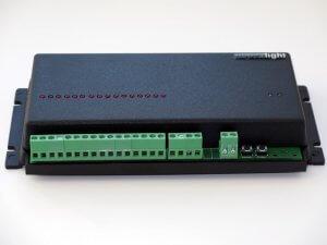 Контроллер iMLed16x3 (16кан, 3А/кан, Iобщ=48А, U=5-12V, 20прог, IP30)