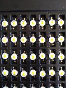 Мощный светодиод LED Emitter Bridgelux 3 w, 560-700mA. XUANCAL