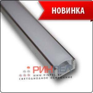 Накладной профиль с матовым экраном AN-P331 17,5х7mm