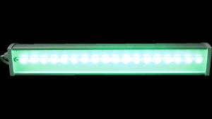 Архитектурный светильник 1000 мм 40 Вт 3240 лм зелёный цвет