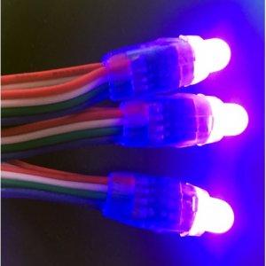 Светодиодные пиксели семицветные