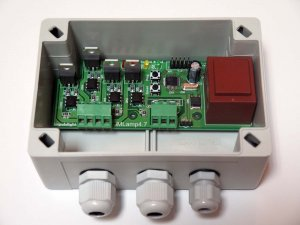 iMLamp4D_ACmini (1400Вт, 4кан, 20прогр, белтлайт, светодиодные лампы, дискретные изм.яркости, IP54, ДУ-RF)