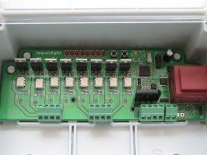 Контроллер iMLamp9_AC  (9кан, 3кВт, USB, дюралайт,активная нагрузка, плавное изм.яркости/белтлайт,светодиодные лампы,дискретное изм.яркости, IP64)