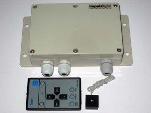 Контроллер iMLed9 (9кан, 15А/кан, Iобщ=67,5А, U=5-25V, 20прог, IP54)
