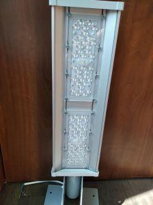 Светильник линзованный KVE E-STR-56 вт,7500 Лм, КСС тип Ш/143*63